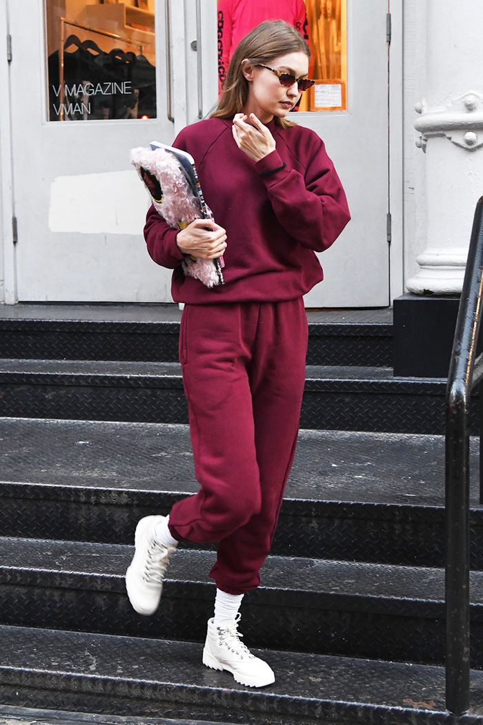 Did Gigi Hadid Just Wear the First It Sneakers of 2019   069bfacec