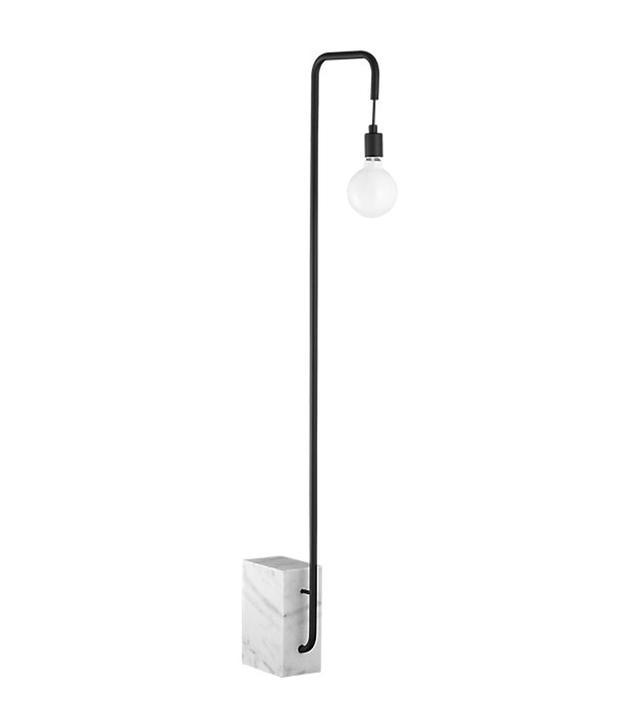 CB2 Marble Floor Lamp