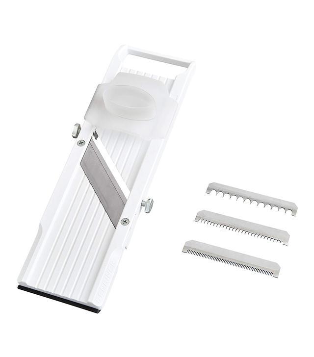 Benriner Mandoline Slicer, with 4 Japanese Stainless Steel Blades