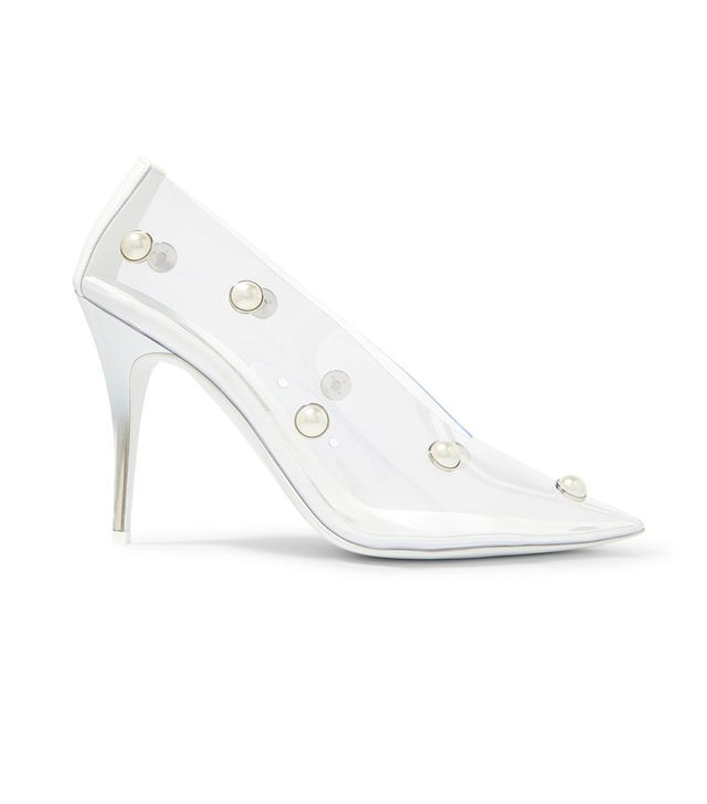 Stella McCartney Embellished PU Pumps