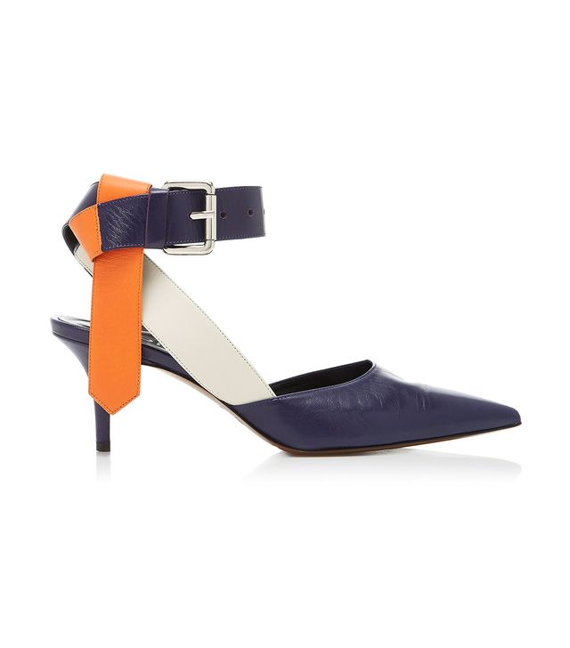 Monse Colorblock Belt Pumps
