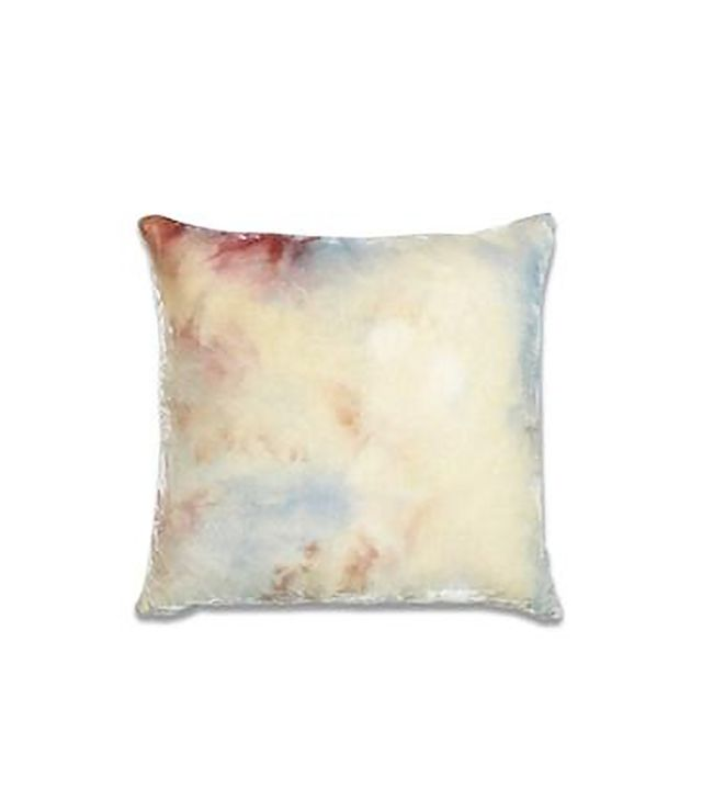 Upstate Velvet Pillow in Citrine