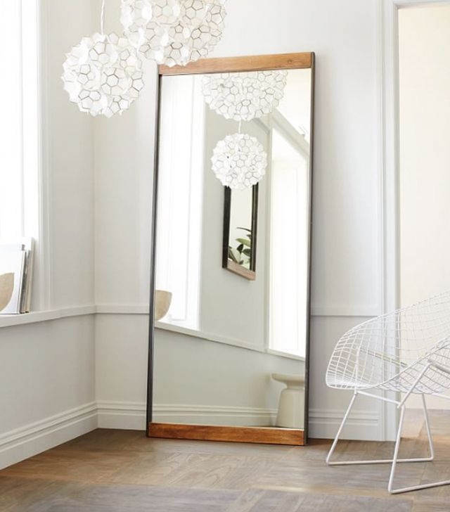 West Elm Industrial Floor Mirror