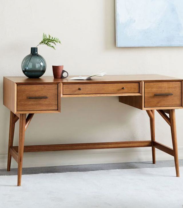 West Elm Mid Century Desk