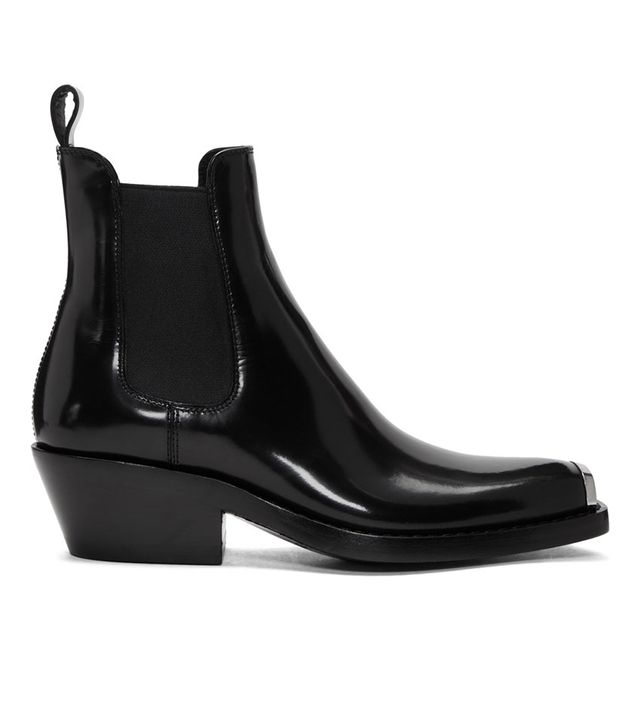 Calvin Klein 205W39NYC Black Western Claire Boots