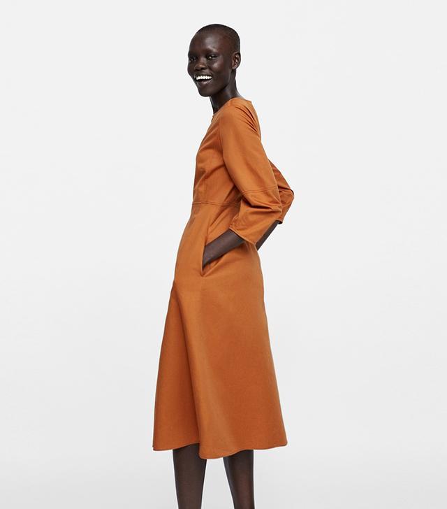 Zara Puffy Sleeved Dress