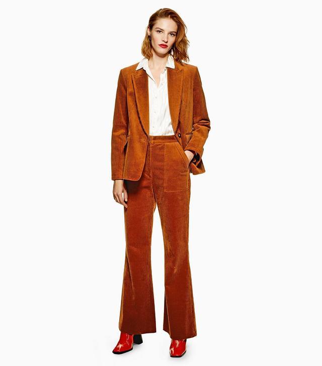 Topshop Corduroy Suit
