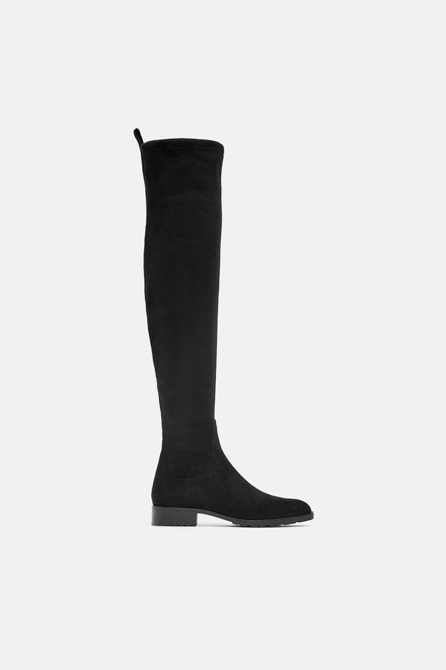 Zara Flat Heeled Boots