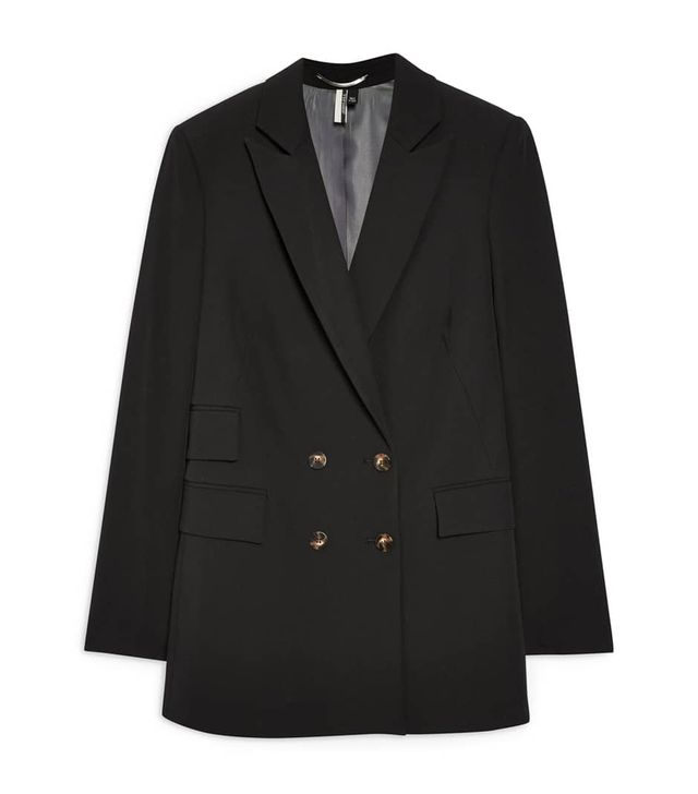 Topshop Double-Breasted Jacket