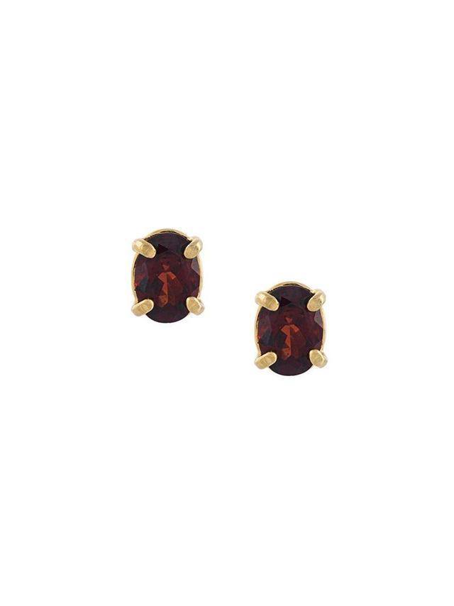 Wouters & Hendrix In Mood for Love Garnet Earrings