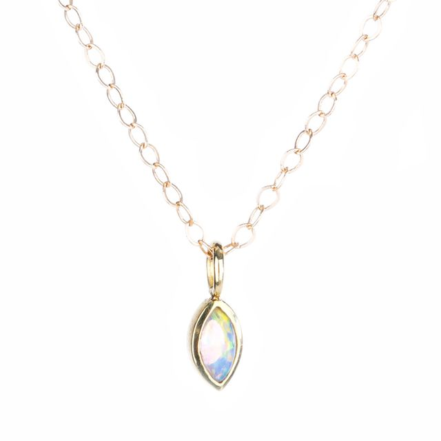 Lisa Mare Montauk Opal Marquise Choker