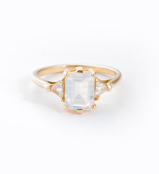 Anna Sheffield Moonstone Bea Ring
