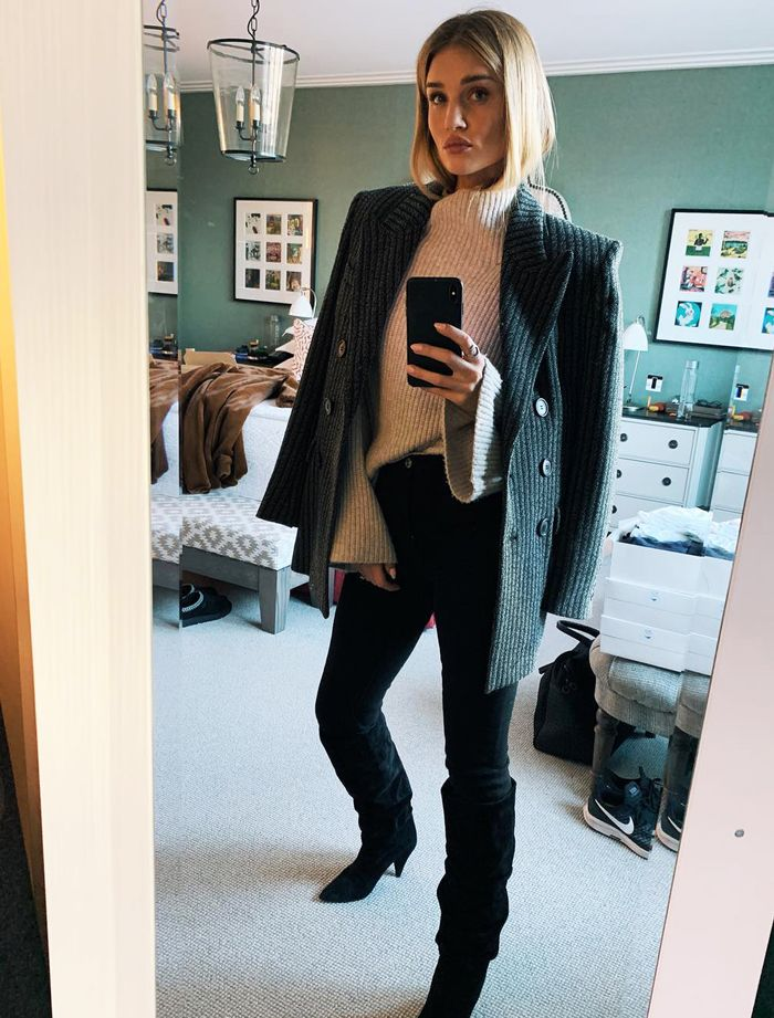 Rosie Huntington Whiteley S 10 Piece Capsule Wardrobe