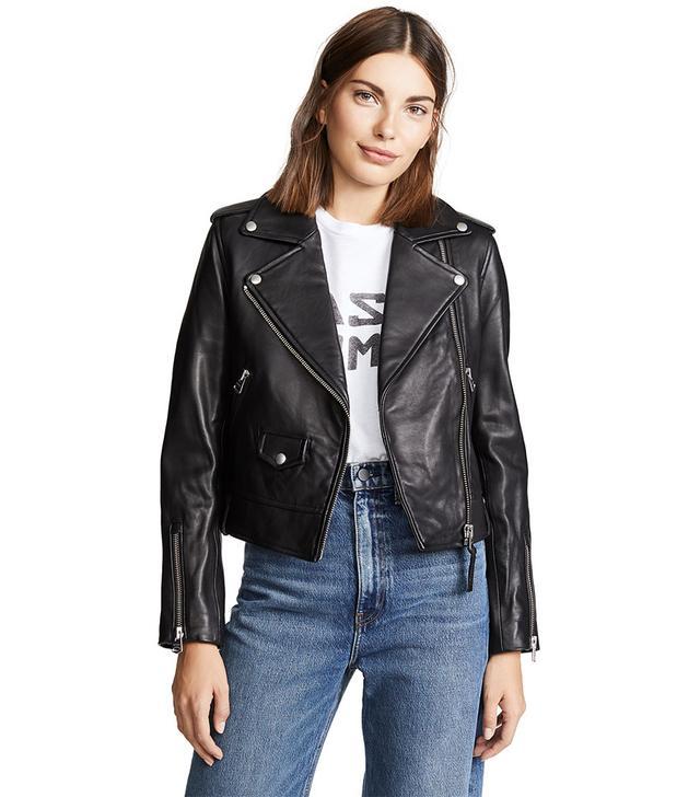Mackage Baya Leather Jacket