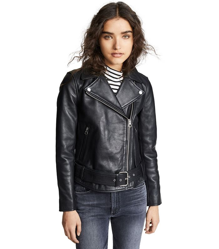 f2df62c55f9 The Best Leather Moto Jackets to Style Perfect Outfits | Who What Wear