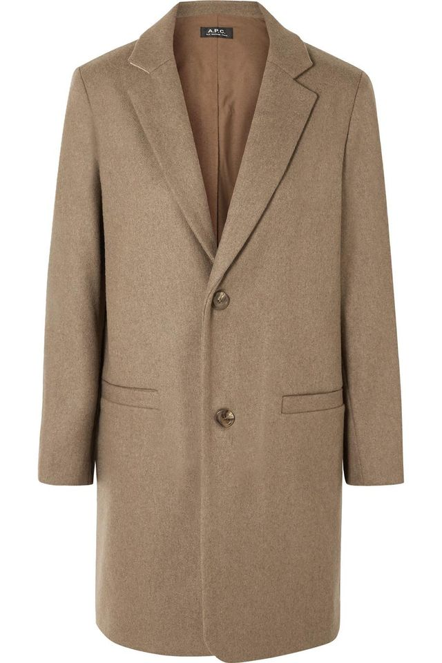 A.P.C. Carver Wool-Blend Coat