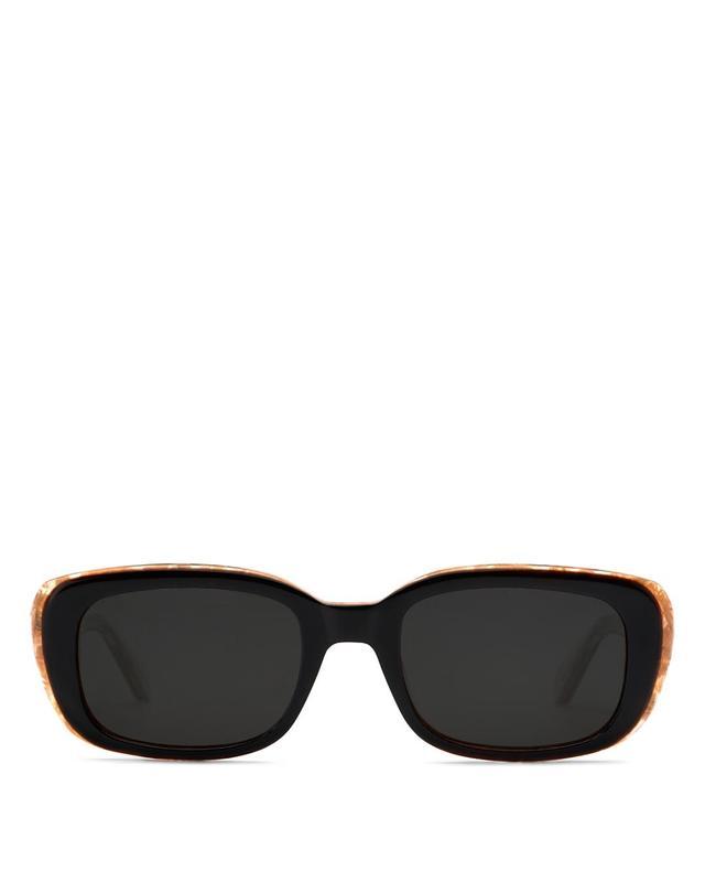 Krewe Milan Rectangle Sunglasses, 50mm