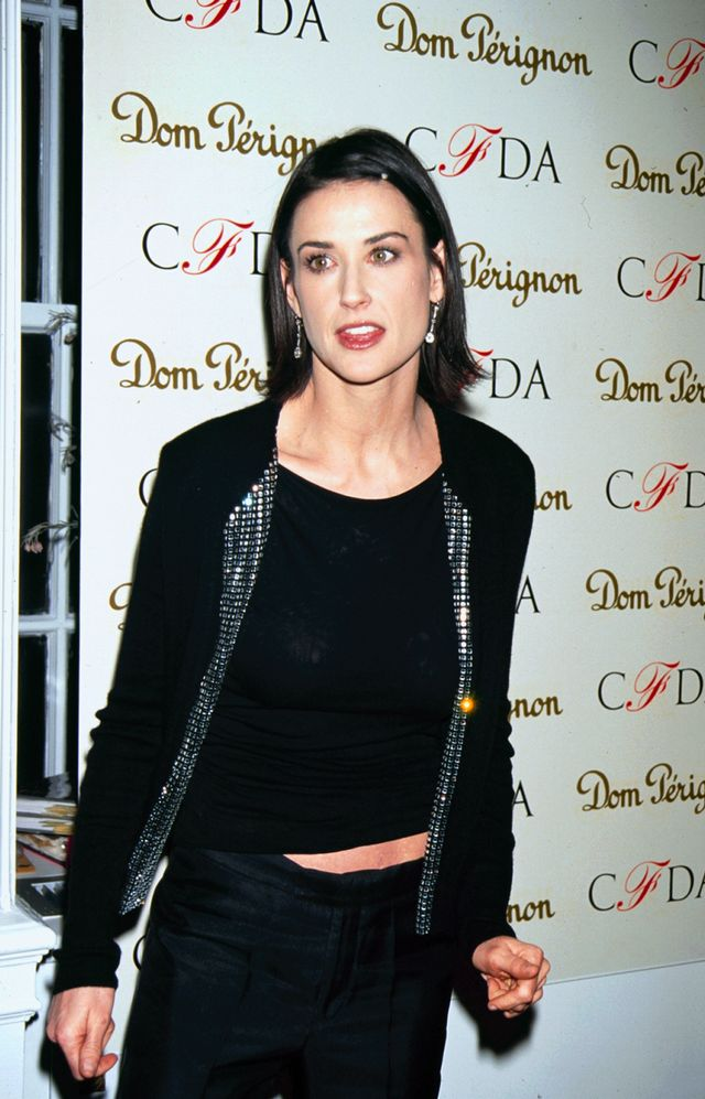 '80s party outfits Demi Moore