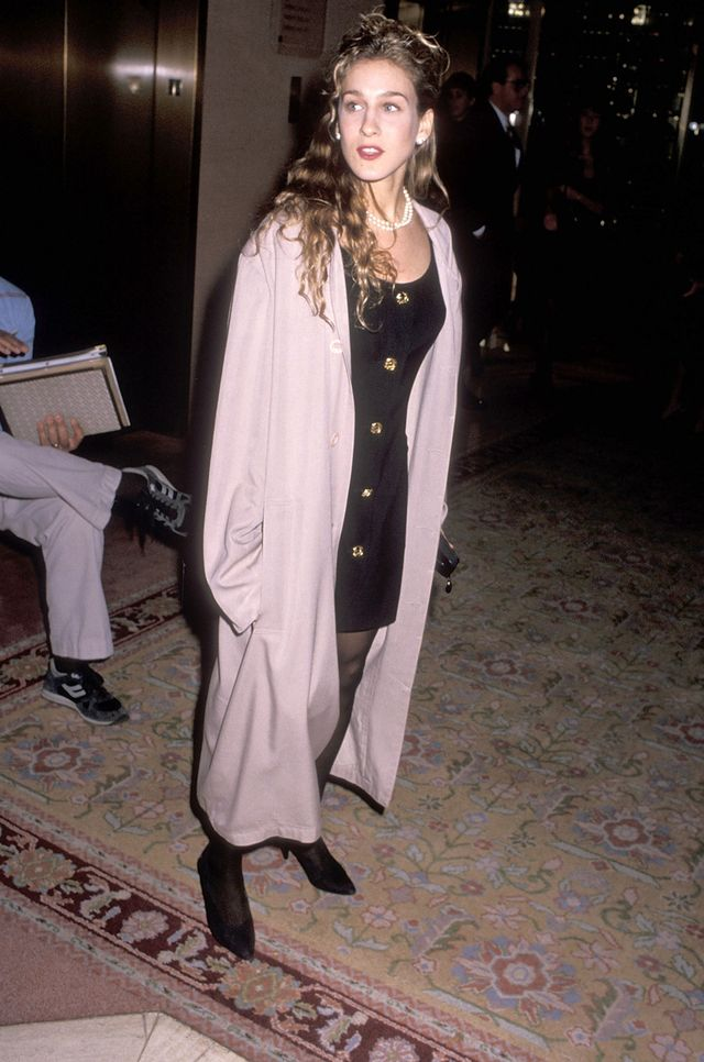 '80s party outfits Sarah Jessica Parker