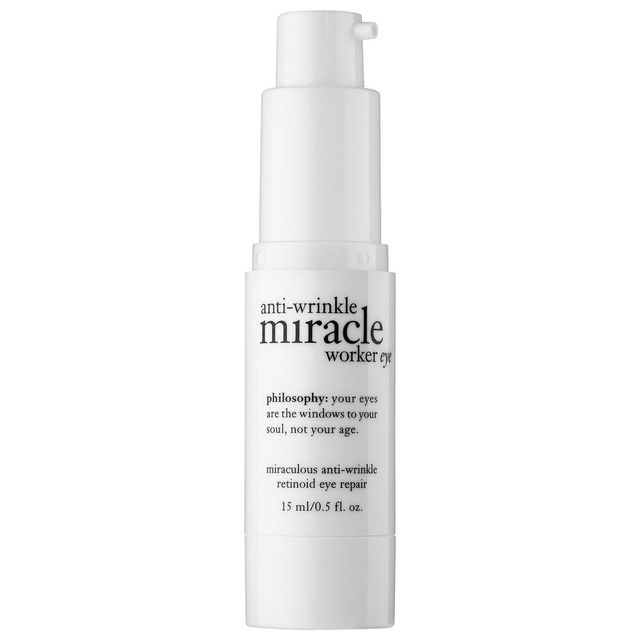 Dermatologist-Recommended Eye Creams Philosophy Anti-Wrinkle Miracle Worker Retinoid Eye Repair Cream