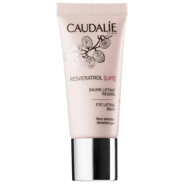 Dermatologist-Recommended Eye Creams Caudalie Resveratrol Lift Hyaluronic Acid Eye Lifting Balm