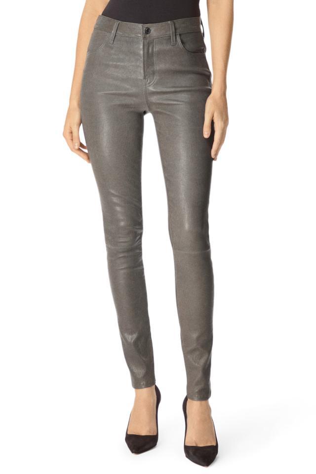 J Brand Maria High-Rise Super Skinny in Future Leather