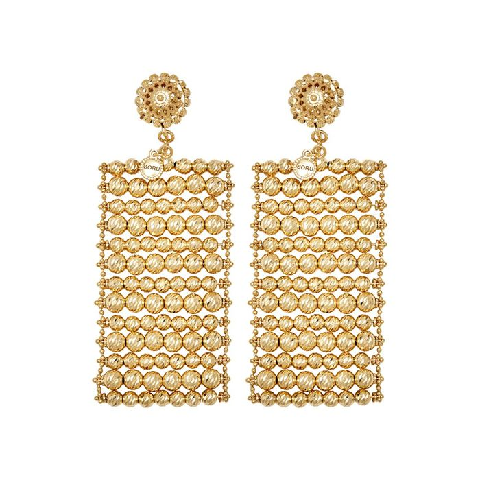 These 22 Gold Statement Earrings Will Never Go Out of Style