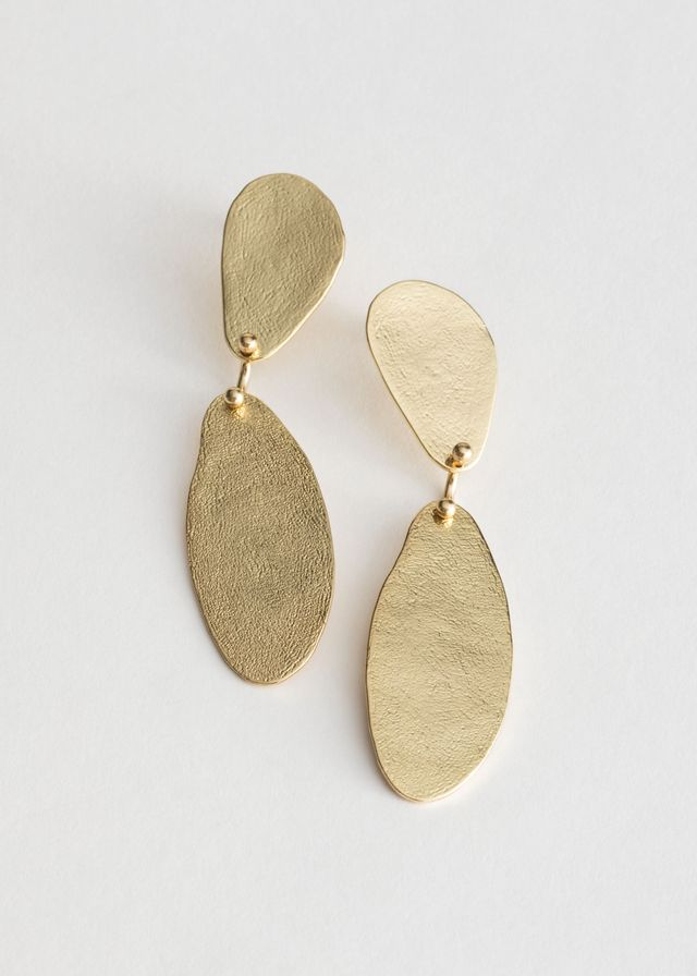 & Other Stories Textured Two Piece Earrings