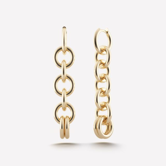 Spinelli Kilcollin Columba Chain Earrings