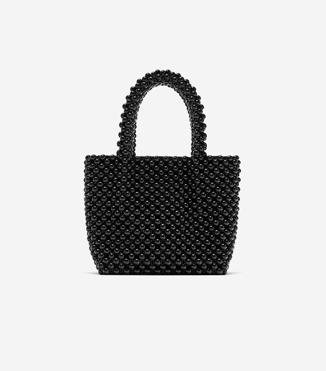Zara Beaded Mini Shopper