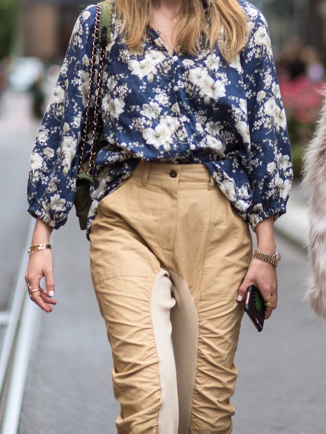 What to Clean Out From Your Closet: Floral Long Sleeve Button-Downs