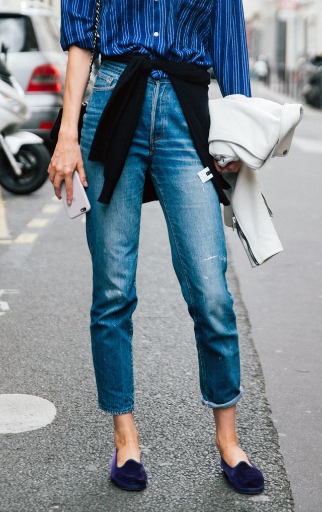What to Clean Out From Your Closet: Smoking Flats
