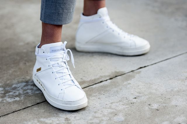 What to Clean Out From Your Closet: High-Top Sneakers