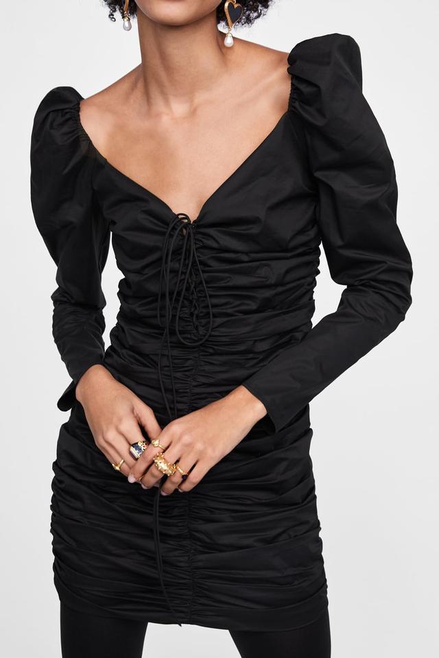 Zara Ruched Dress