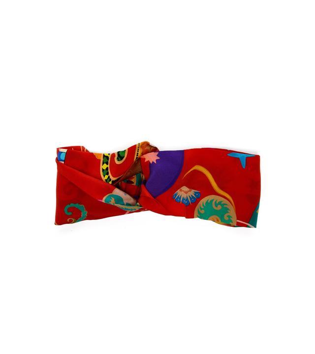 Etro Floral-Print Silk Headband