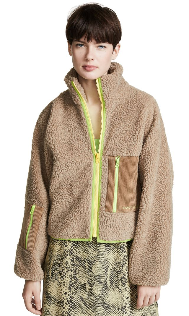 Sandy Liang DW Fleece Jacket
