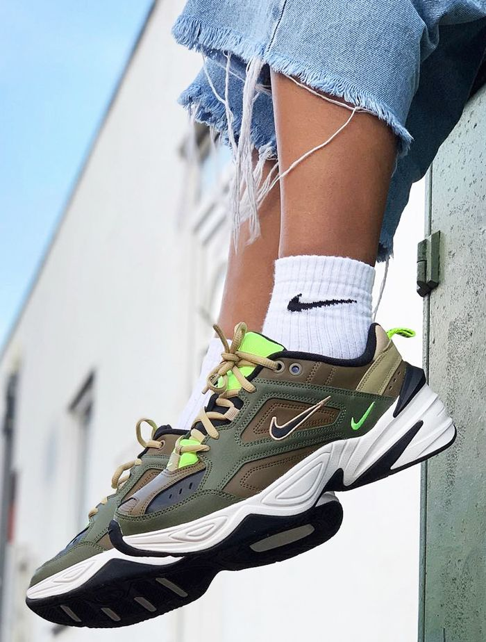 quality design fd29c ee2da We Predict Nike M2K Tekno Trainers Will Be Huge in 2019   Who What Wear