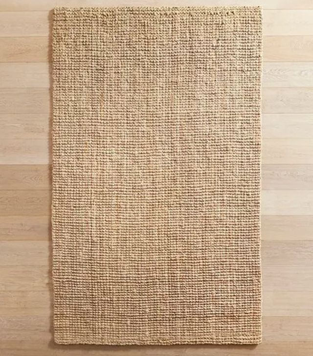Popcorn Jute Collection Natural Rug