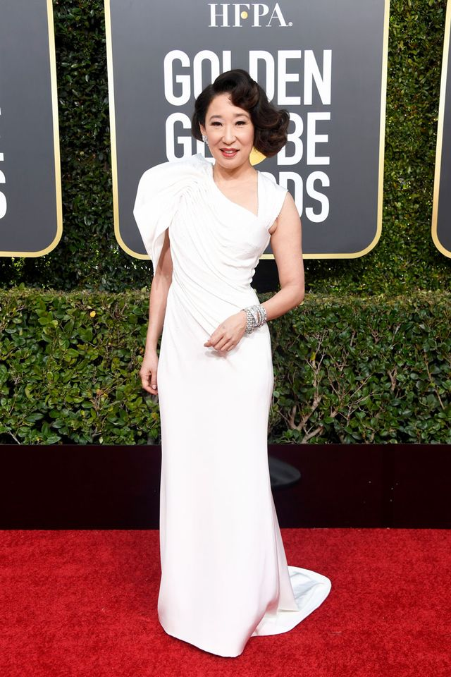 Sandra Oh Golden Globe Awards 2019