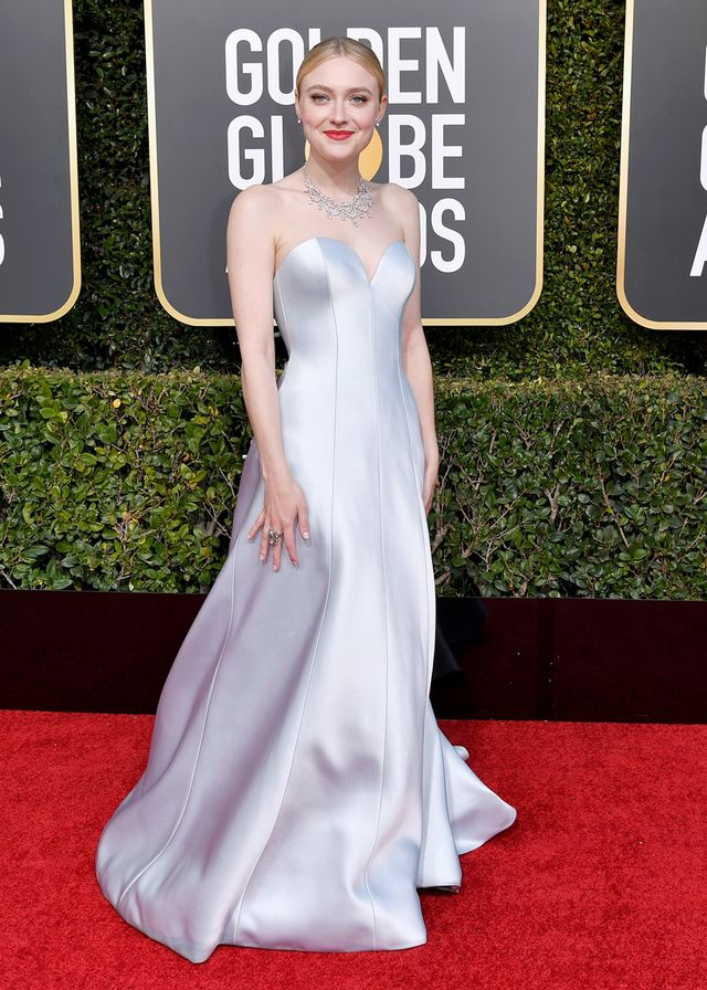 Dakota Fanning 2019 Golden Globe awards