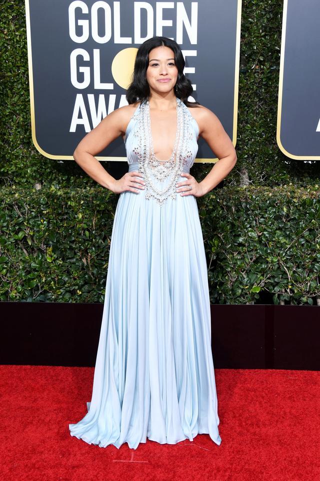 Gina Rodriguez 2019 Golden Globes