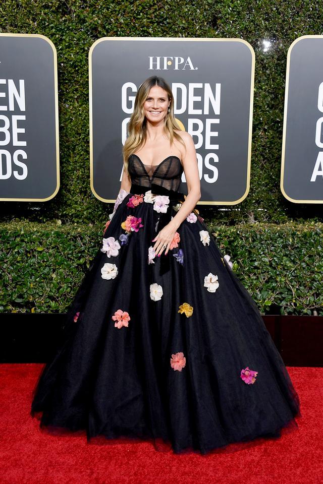 Heidi Klum 2019 Golden Globes