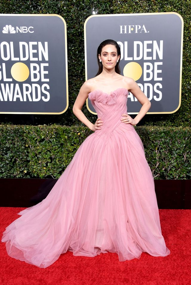 Emmy Rossum Golden Globes 2019