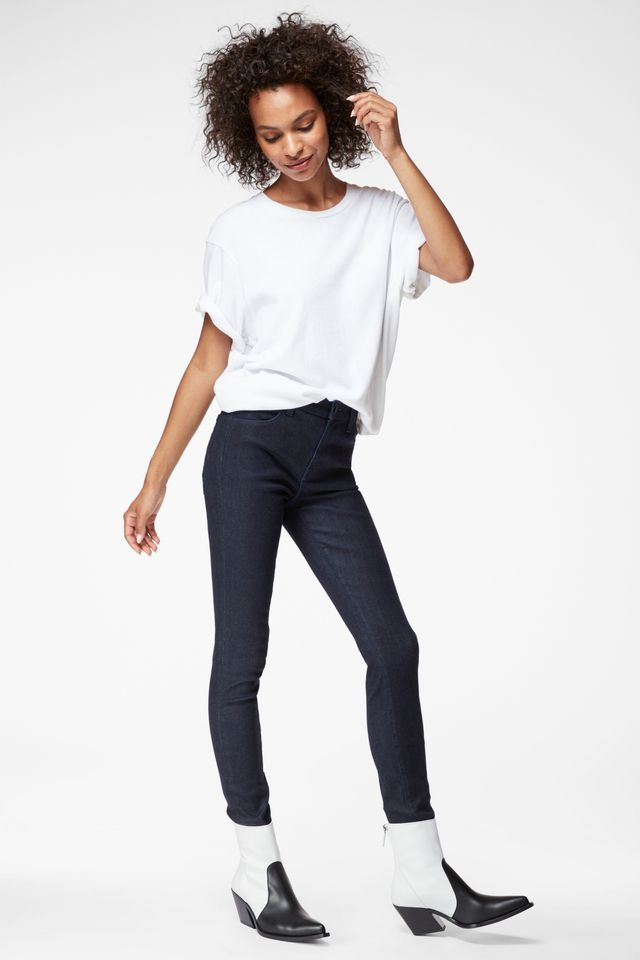 J Brand Maria High-Rise Super Skinny Jeans in Photo Ready HD Realm
