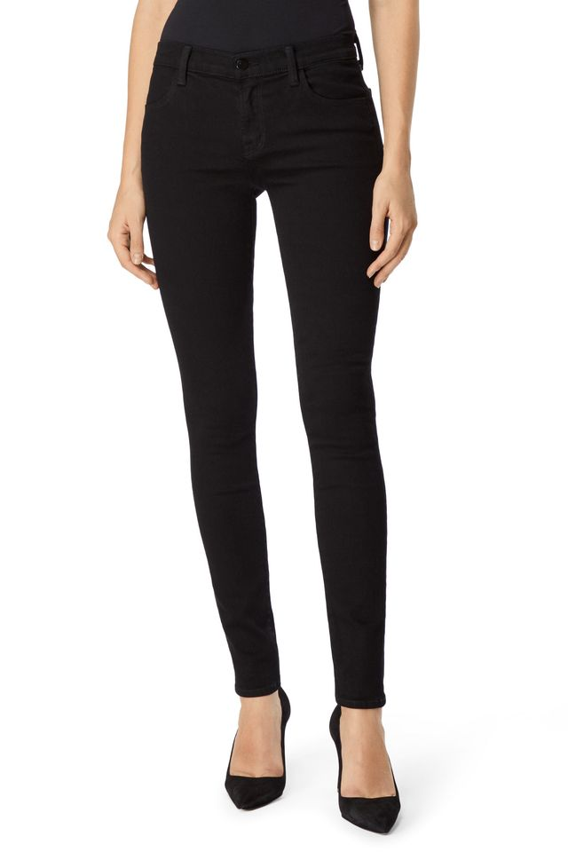J Brand 620 Mid-Rise Super Skinny Jeans in Photo Ready HD Vesper