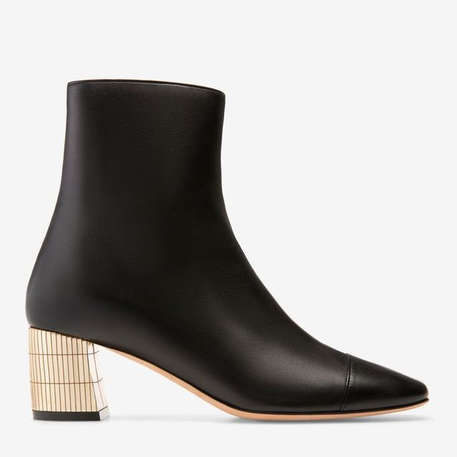 Bally Emme Calf Leather Ankle Boots
