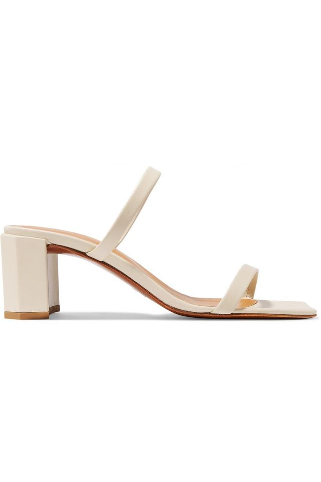 By Far Tanya Leather Sandals