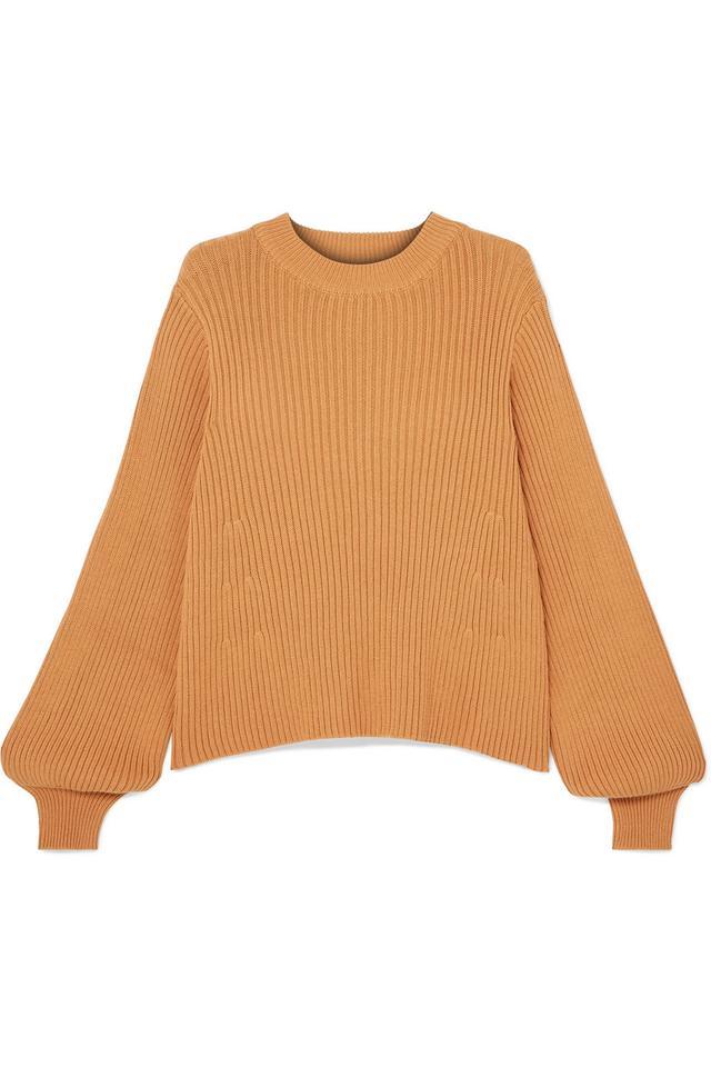 L.F.Markey Benji Ribbed Cotton Sweater