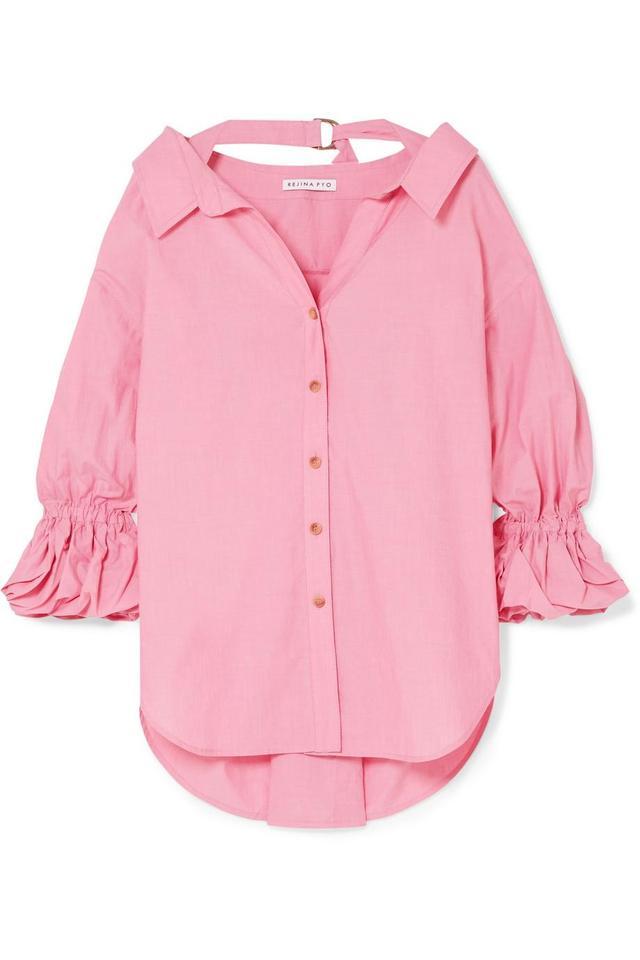 Rejina Pyo Amber Oversized Cotton Shirt