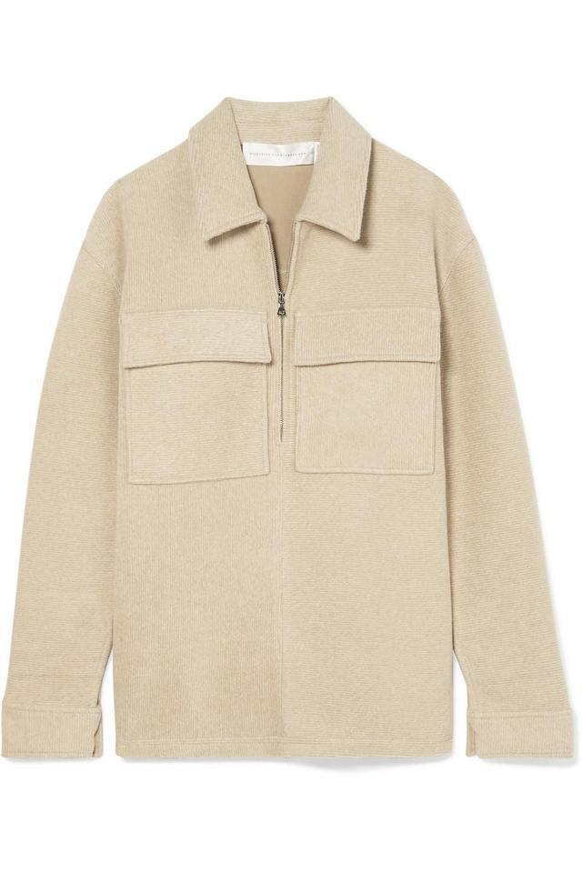 Victoria by Victoria Beckham Cotton-Blend Chenille Shirt